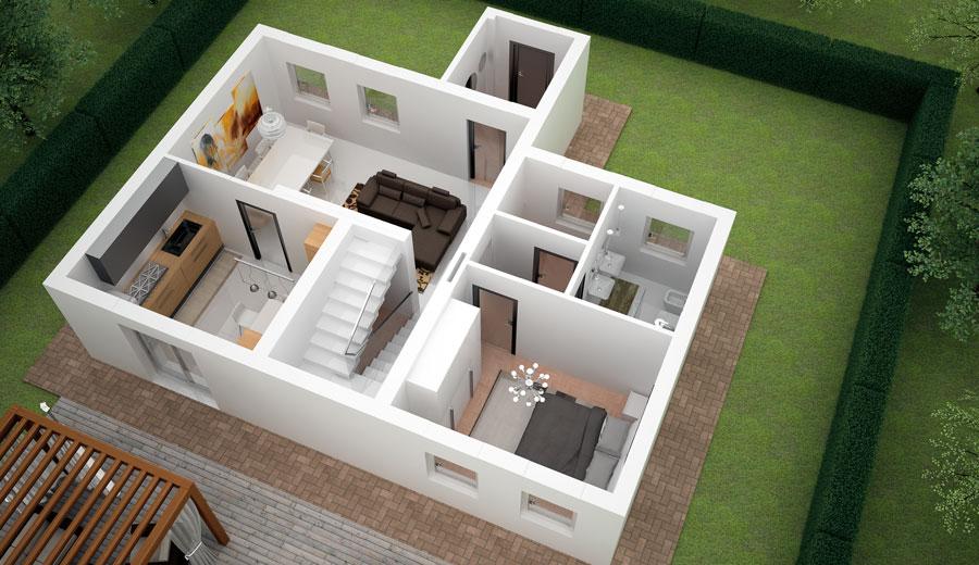 Progettazione d 39 interni soluzioni d 39 arredosoluzioni d 39 arredo for Log planimetrie nuove case