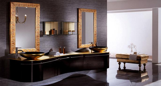 bagno classico contemporaneo  avienix for ., Disegni interni