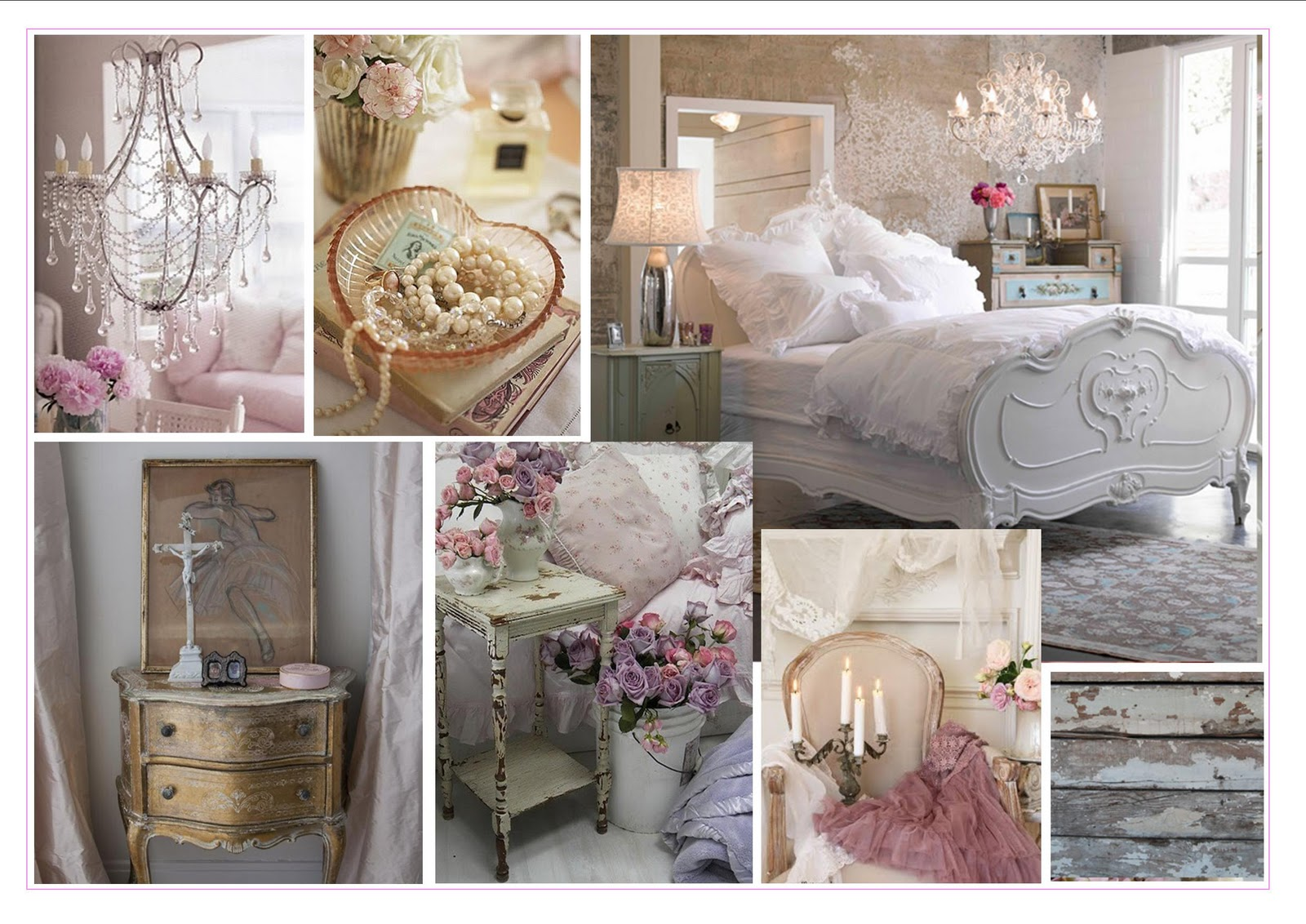 Shabby chic soluzioni d 39 arredosoluzioni d 39 arredo for Bedroom inspiration shabby chic