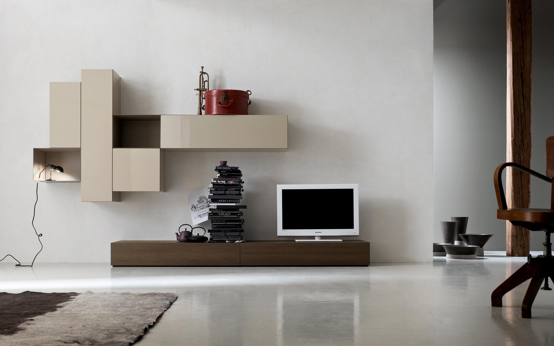 Beautiful Immagini Mobili Soggiorno Moderni Contemporary - Design ...